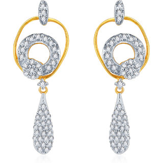 Karatcraft.In Olenta 18Kt Gold Earrings.