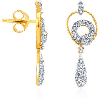 Karatcraft.In Olenta 18Kt Gold Earrings.