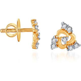 Karatcraft.In Deepal 22Kt Gold Earrings.