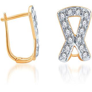 Karatcraft.In Rimi 22Kt Gold Earrings.