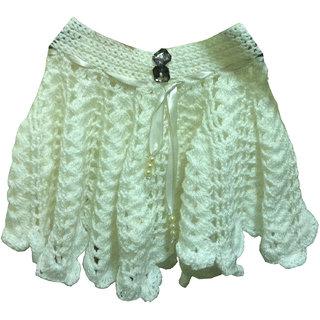 Woolen chrochet skirt CQ06