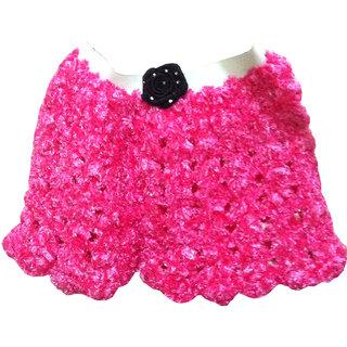 Handmade woolen crochet skirt CQ07
