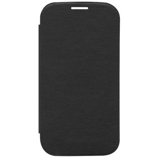 Ang Premium Pu Leather Back Replacement Cover For Samsung Galaxy Grand Prime 4G G530H (Black)