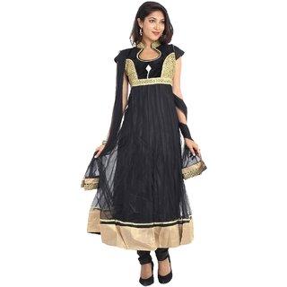 Salwar Kameez Anarkali suit Collections-Black-RM9066-MM-Georgette