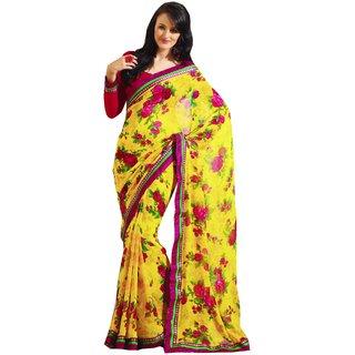 SUBHASH RAWSILK SAREE COLLECTIONS-Yellow-SUT7323-VN-Art Silk, Silk