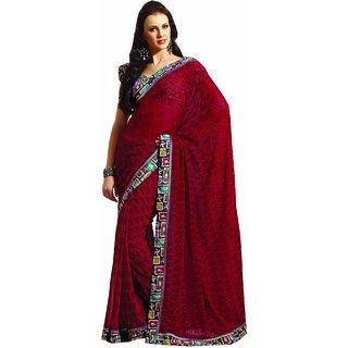SUBHASH RAWSILK SAREE COLLECTIONS-Maroon-SUT7329-VN-Art Silk, Silk