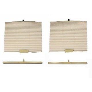 Autostark Car Auto Folding Afb6028 Sun Shade For Mahindra Bolero (Side Window)
