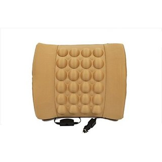Autostark Car Seat Vibrating Cushion Massager For Chevrolet Aveo Vehicle Seating Pad (Pack Of 1)
