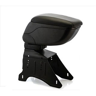 Autostark Arm2675 Car Armrest (Black, Volkswagen, Vento)