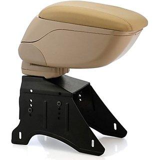 Autostark ArmB253 Car Armrest (Beige, Chevrolet, Aveo)