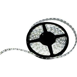 Autostark Water Proof Led Strip Light Smd 5 Meters 1 Roll Car Fancy Lights (White)