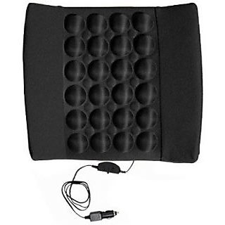 Autostark Car Seat Vibrating Cushion Massager For Mahindra Bolero Vehicle Seating Pad (Pack Of 1)