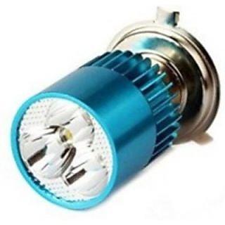 Autostark H4 3Bright Light White- Bajaj Discover Motorbike Led Bulb (Headlight Pack Of 1)