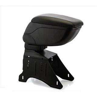 Autostark Arm2643 Car Armrest (Black, Mahindra, Na)