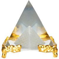 Feng Shui / Vastu Crystal Pyramid -For Positive Energy And Vastu Correction