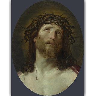 Vitalwalls - Portrait Painting - Canvas Art Print Religion-014-45Cm