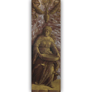 Vitalwalls - Portrait - Canvas Art Print On Wooden Frame Religion-030-F-60Cm