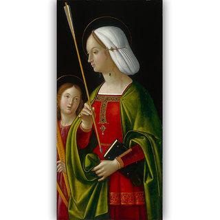 Vitalwalls - Portrait - Canvas Art Print Religion-069-45Cm