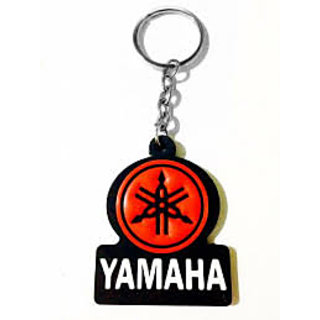 Yamaha Logo Ruber keychain For Bike Model 2