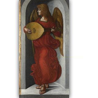 Vitalwalls - Portrait - Canvas Art Print On Wooden Frame Religion-074-F-30Cm