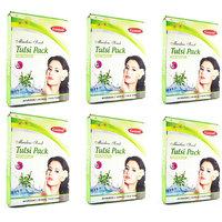 Ganpati Herbal Tulsi Face Pack 25 Gms Set Of 6