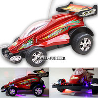 Rechargeable Red Radio Control Racing Car Toys