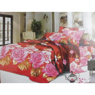 Floral Printz Double Bedsheet With 2 Pillow Covers- Assorted Designs