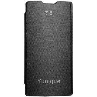 huge discount 0e5e5 1ecd4 TBZ Flip Cover Case for YU Yunique -Black
