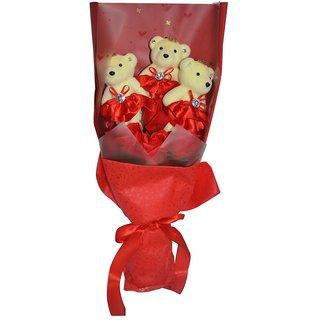 Handmade Red Soap Flower (Medium)