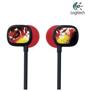 Ultimate Ears 100 Noise-Isolating In-Ear Headphone Crimson Red