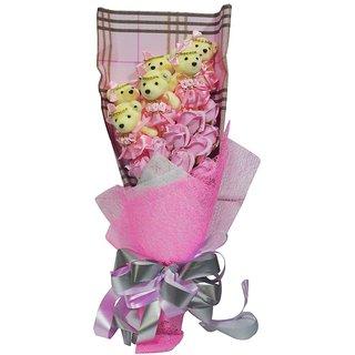 Handmade Pink Soap Flower (Large)