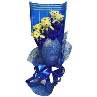 Handmade Blue Soap Flower (Large)