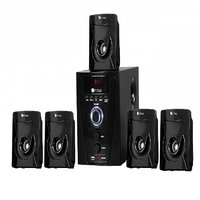 Flow Flash 5.1 Multimedia Speaker Home Theater System with FM- 12 Months Warranty
