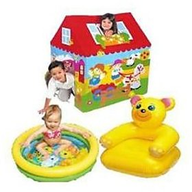 Picnic Combo Tent House Teddy Chair Baby Pool