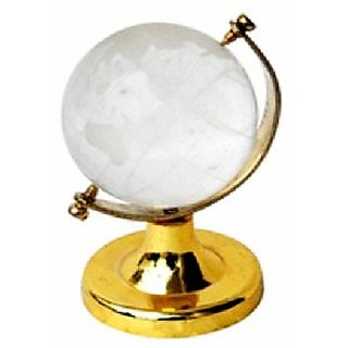 CRYSTAL GLOBE - This is a crystal Feng Shui globe used for activating success an