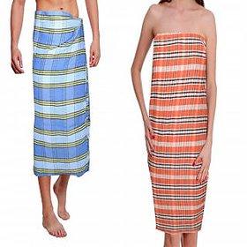 combo offer -  Pack of 2 Linen Bath Towels - Cotton  Bath towel
