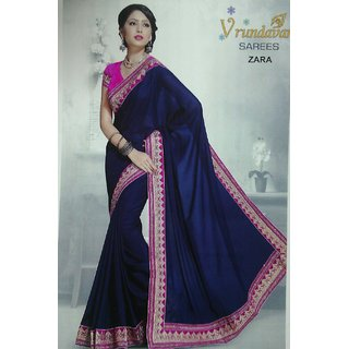 Fancy Fabrics With Fancy Blouse Sarees