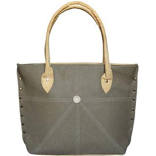 Bueva Grey  Cream (Appstar) Fashionable and Stylish Hand Bag