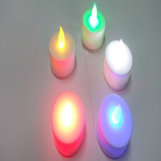 LED DIYAS (LED CANDLE) -PACK OF 5 PIECES