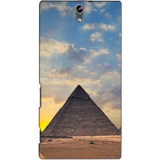 Instyler Premium Digital Printed 3D Back Cover For Sony C5 Dual 3DSONYC5DDS-10079