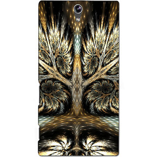 Instyler Premium Digital Printed 3D Back Cover For Sony C5 Dual 3DSONYC5DDS-10090