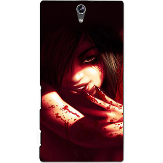 Instyler Premium Digital Printed 3D Back Cover For Sony C5 Dual 3DSONYC5DDS-10092