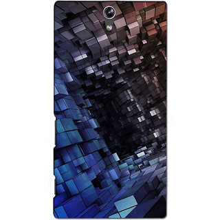 Instyler Premium Digital Printed 3D Back Cover For Sony C5 Dual 3DSONYC5DDS-10095