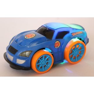 smiles creation Super Toy Car with 3D lights  Music  with Bump And Go Action