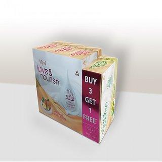 Vivel Love N Nourish Shea Butter 125gm X 3 soap + Olive Butter 75gm Soap Free