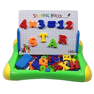 smiles creation 2 In 1 Magnetic Learning Case-Drawing Board With Magnetic Board