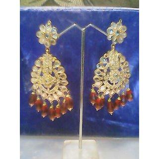 jarau and kundan earrings