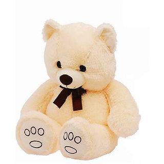 Tender Cream Teddy Bear Soft Toy-75 cm