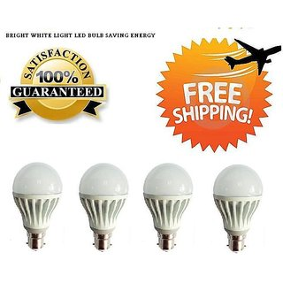 Combo of 12w Imported Led Bulbs Set OF 4 Pcs