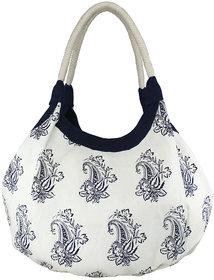 Yolo Women's Alva   BBlue Printed Hobo Bag